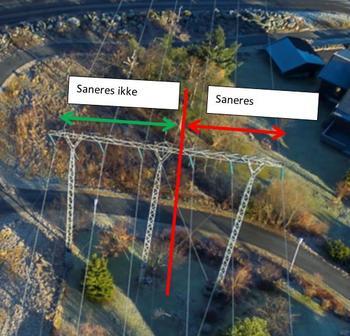 Fotoillustrasjon av mast ved Farriseidet