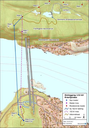 Anleggskonsesjonskart Grenlandsbrua