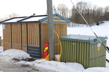 Nettstasjon i Sande, Vestfold