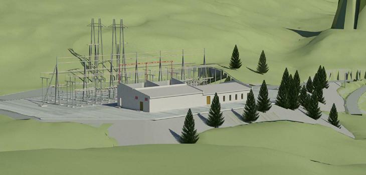 Illustrasjonsfoto Tørdal transformatorstasjon