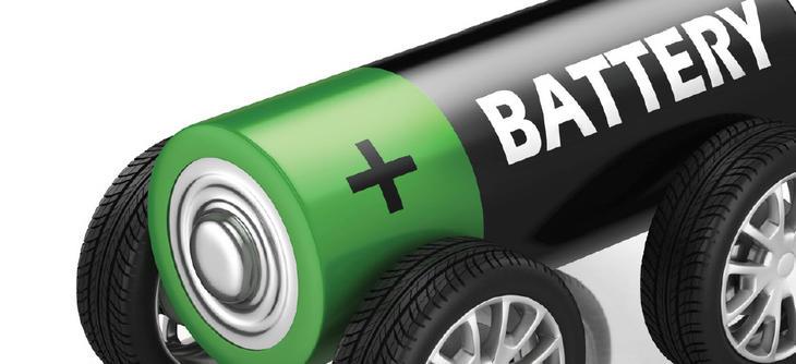 Bilde av batteri med hjul